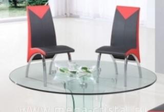 Какие стулья подойдут к стеклянному столу>
