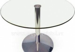 Куда поставить круглый стеклянный стол>