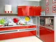 Сколько стоит кухонный фартук из стекла?