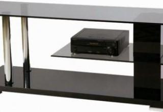 Каксобрать стеклянную подставку под телевизор>