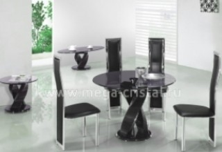 Как выбрать стеклянный стол для кухни>