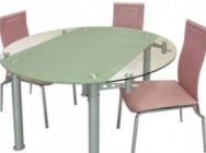 Каким должен быть стеклянный обеденный стол?