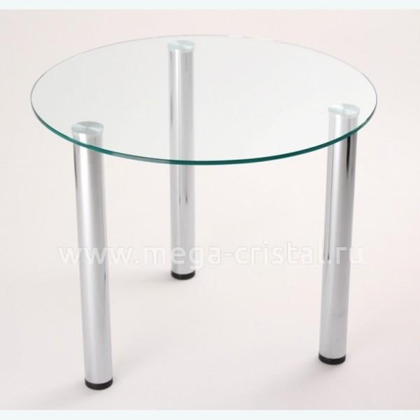 Стол обеденный Эдель 18 прозрачный