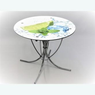 Обеденный стол Арфа фотопечать лайм