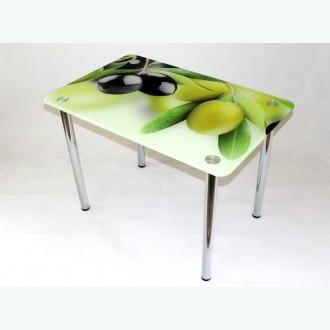 Стол обеденный Эдель 10 фотопечать оливки