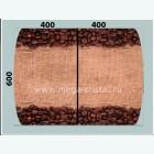 рогожка с кофе 3300 руб. за 1м кв.