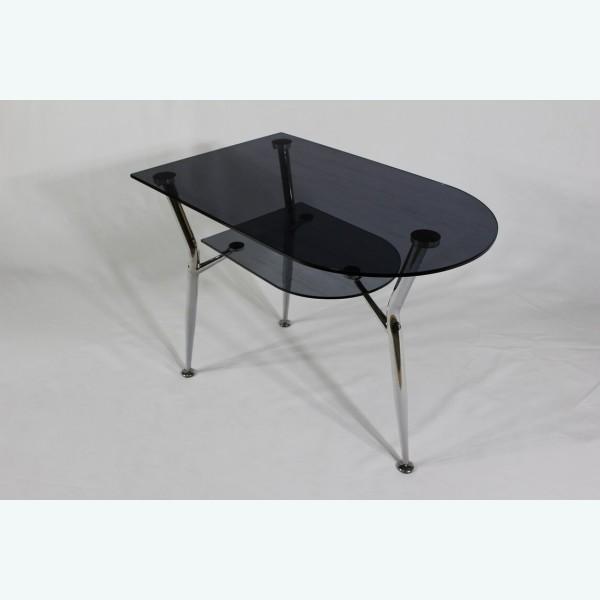Стол обеденный Квадро 31/3 серый