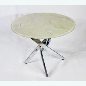 Стол обеденный Рим 18 DT17 бежевый мрамор