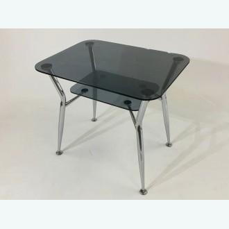 Стол обеденный Квадро 10 серый
