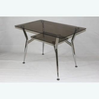 Стол обеденный Квадро 10 бронза