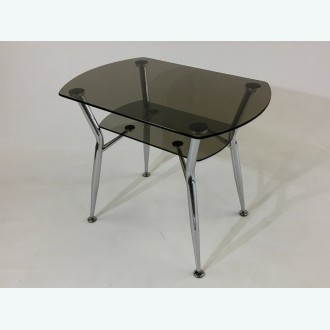 Стол обеденный Квадро 32 серый