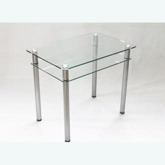 Обеденный стол из стекла Эдель 11 прозрачный
