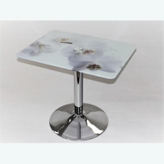стол Троя 10 фотопечать белая орхидея