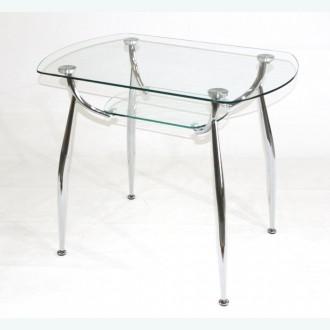 Стол обеденный Вокал 32 прозрачный