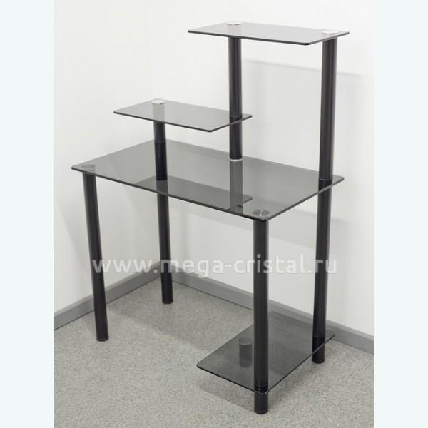Компьютерный стол КС04 серый