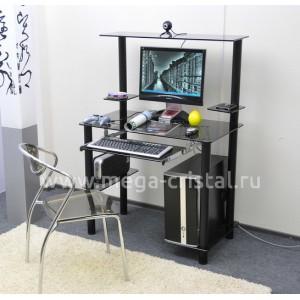 Компьютерный стол КС05 серый