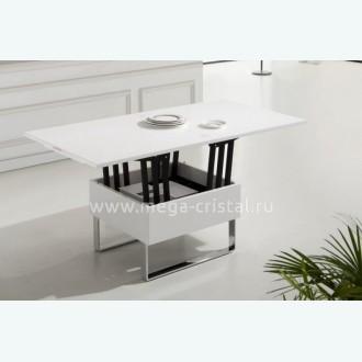 стол трансформер В2218 белый лак