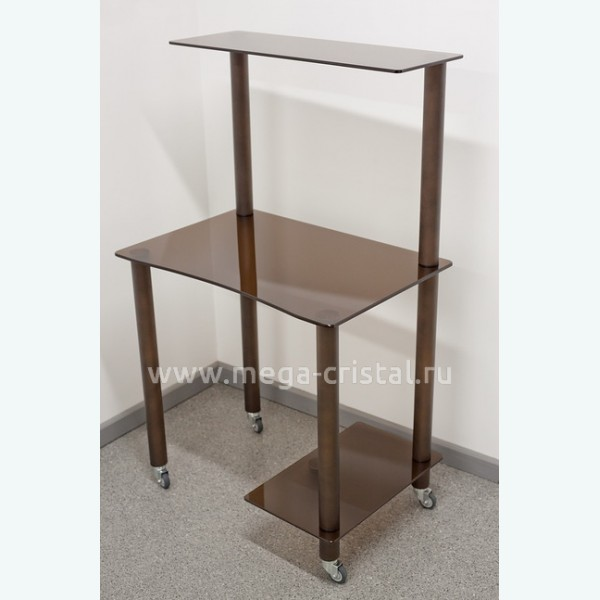 Компьютерный стол КС01 бронза