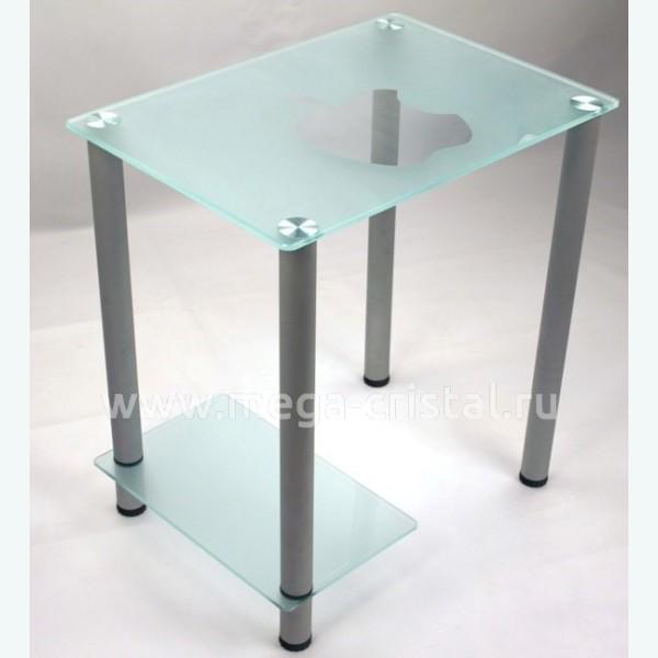 Компьютерный стол КС07 матовый Яблоко