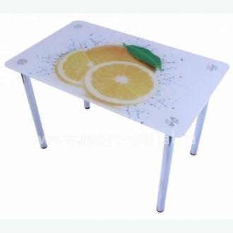 Стол обеденный Эдель 10 фотопечать грейпфруты