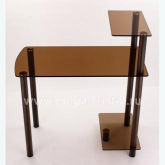 Компьютерный стол КС02 бронза