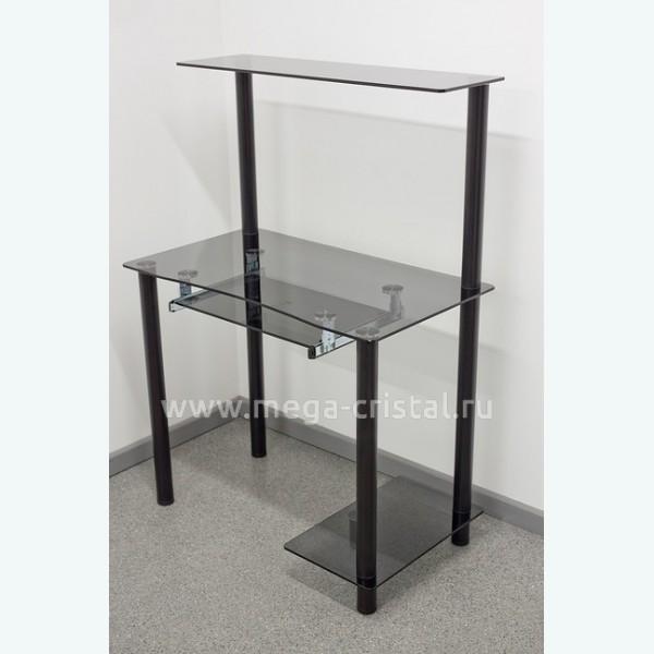 Компьютерный стол КС01 серый