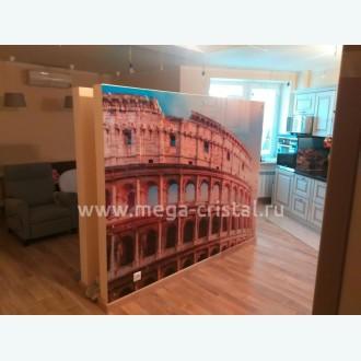стеклянное панно на стену с фотопечатью Колизей