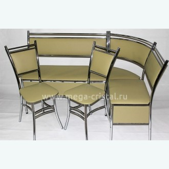Комплект кухонный уголок Антракт + стулья Дива №29