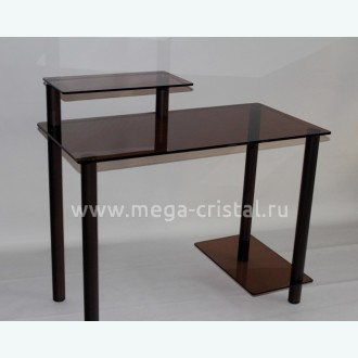 Компьютерный стол КС08 бронза