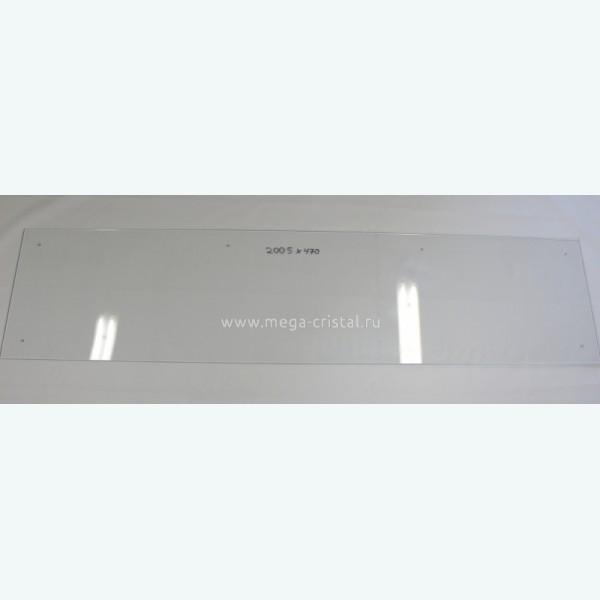 стеклянная панель для кухни оптивайт 6мм
