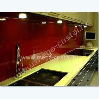 Стеклянная панель для кухни цветная