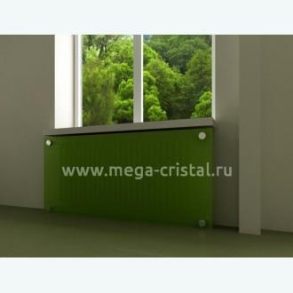 стеклянный экран для батареи цветной