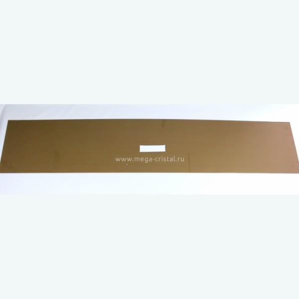 стеклянная панель для кухни бронза 6мм